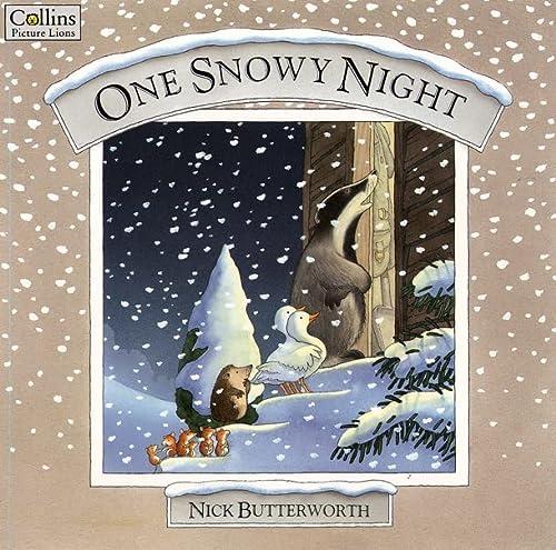 9780001010468: One Snowy Night