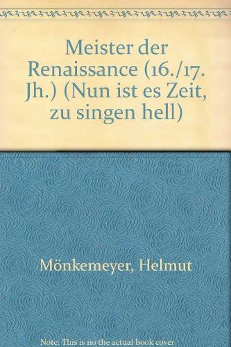 9780001014718: Meister Der Renaissance (16./17. Jh.)