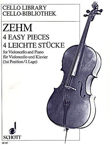 9780001017603: Zehm: Four Easy Pieces (Cello & Piano)