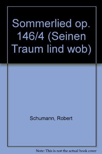 9780001019874: Sommerlied op. 146/4 - Mixed Choir [SATB] - SCORE