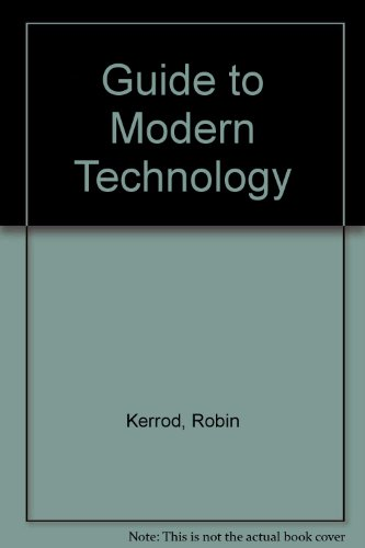 9780001021341: Guide to Modern Technology