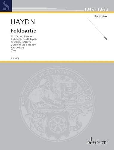 9780001022348: Feldpartie Hob. II: 43 - g-Moll - 2 Hautbois, 2 Cors, 2 Clarinettes et 2 Bassons - Partition - CON 73