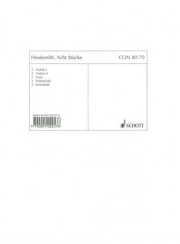 9780001022577: Eight Pieces op. 44/3 (Schulwerk für Instrumental-Zusammenspiel)