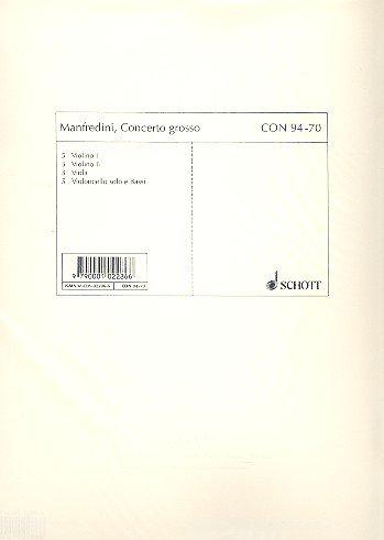 9780001022867: Weihnachtskonzert C-dur Op 3/12 Concerto Grosso