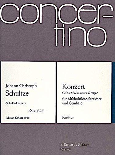 9780001023673: Concerto G Major