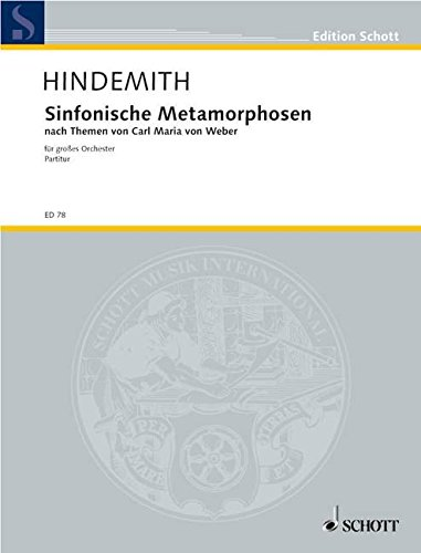 9780001030640: Symphonic Metamorphosis (of Themes by C. M. von Weber)