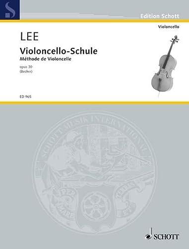 9780001032330: LEE S. - Escuela Op.30 para Violoncello (Becker)