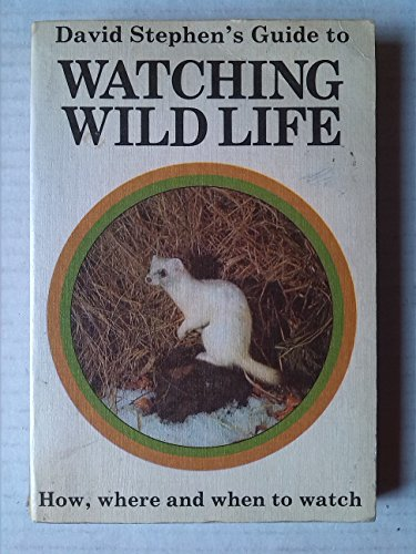 9780001033238: Guide to Watching Wild Life