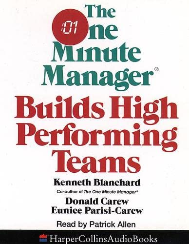9780001046665: The One Minute Manager Builds High Performing Teams