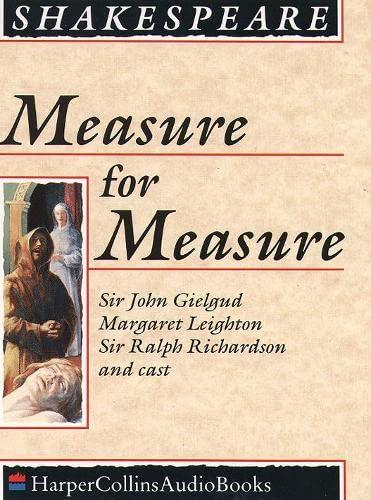 9780001048775: Measure for Measure: Complete & Unabridged