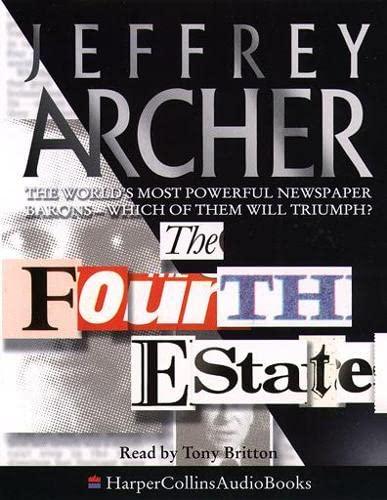 9780001052154: The Fourth Estate [audio cassette]