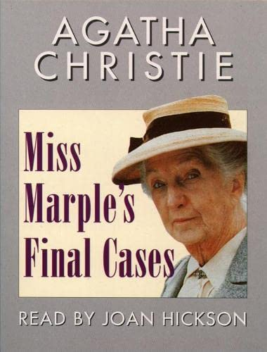 Miss Marple's Final Cases: Export Edition (0001053043) by Agatha Christie