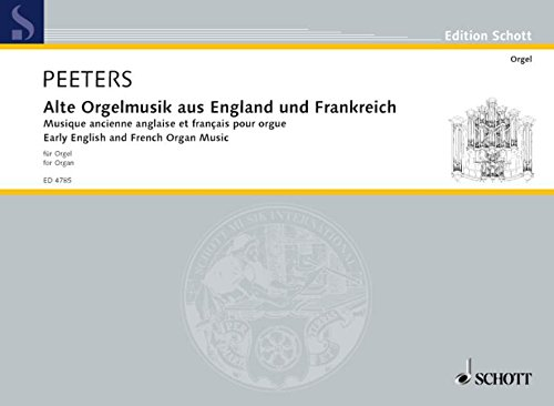 9780001055216: Early English and French Organ Music