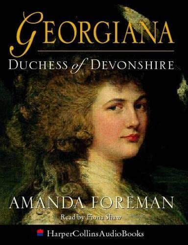 9780001056350: Georgiana, Duchess of Devonshire