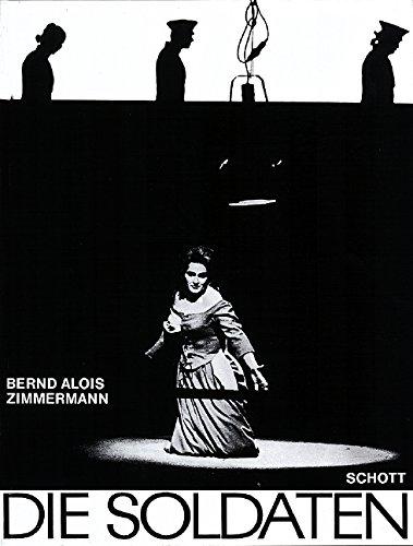 9780001058040: Die Soldaten (Oper in 4 Akten nach dem gleichnamigen Schauspiel von Jakob Michael Reinhold Lenz)