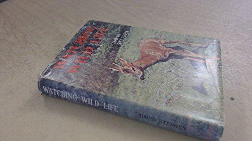 9780001061866: Watching Wild Life