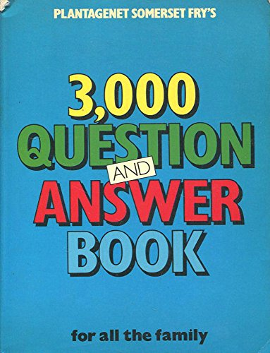 9780001062092: 3000 Question and Answer Book