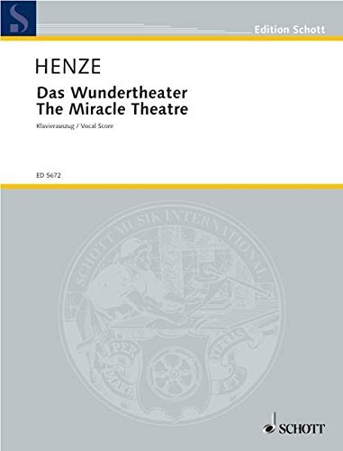 9780001062771: The Miracle Theater - VOCAL SCORE