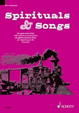 9780001065048: Spirituals & Songs - Equal Voices [SSA] with Accompaniment ad lib. - VOCAL SCORE