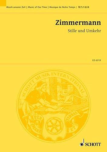 9780001067219: Stille und Umkehr (Orchesterskizzen)