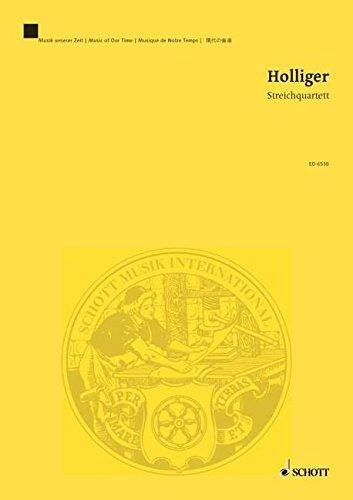 9780001069565: Streichquartett - Music Of Our Time - quatuor � cordes - Partition d'�tude - ED 6538