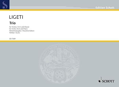 9780001076365: Trio - Hommage à Brahms - violon, cor (F/B) et piano - Partition - ED 7309