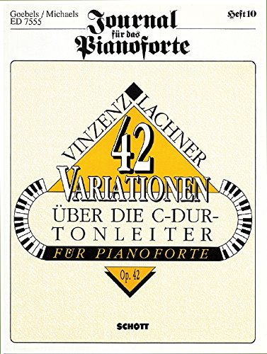 9780001078833: 42 Variations of the C Major scale op. 42 - Piano - Book