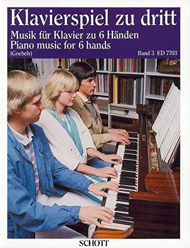 9780001080249: SCHOTT PIANO MUSIC FOR 6 HANDS BAND 3 - PIANO Classical sheets Piano