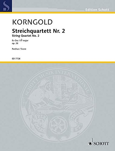 9780001080393: Quartet No. 2 op. 26