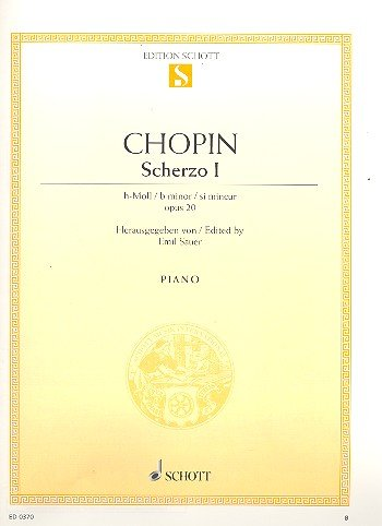 9780001085763: Scherzo B Minor, op. 20 op. 20