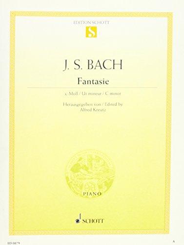 9780001086579: SCHOTT BACH J. S. - FANTASIE C-MOLL BWV 906, 1 - PIANO Partition classique Piano - instrument � clavier Clavecin