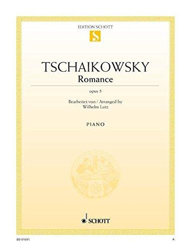 9780001087637: SCHOTT TCHAIKOVSKY P.I. - ROMANCE OP. 5 - PIANO Partition classique Piano - instrument à clavier Piano