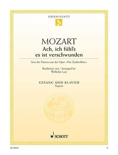 9780001088658: SCHOTT MOZART W.A. - THE MAGIC FLUTE KV 620 - SOPRANO AND PIANO Partition classique Vocale - chorale Voix solo, piano