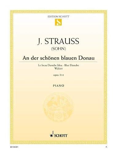 9780001089082: An Der Schonen Blauen Donau - Piano - Book