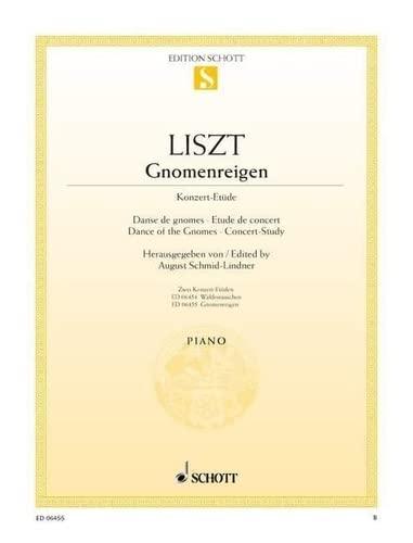 9780001089174: SCHOTT LISZT FRANZ - GNOMENREIGEN - PIANO Partition classique Piano - instrument à clavier Piano