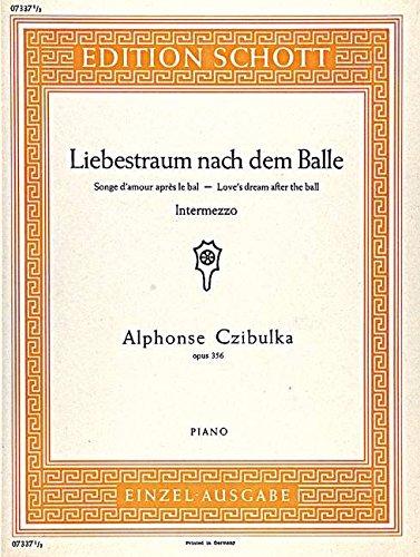 9780001089884: Liebestraum nach dem Balle op. 356 (Intermezzo)