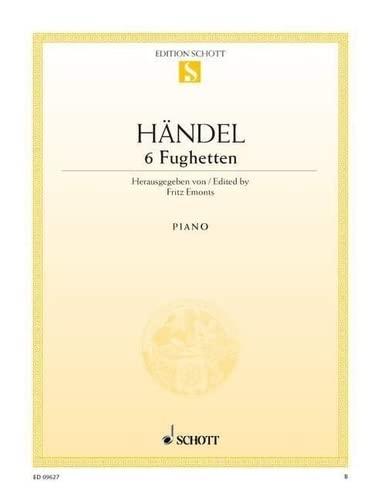 Fughetten(6) Piano: Georg Friedrich Hand