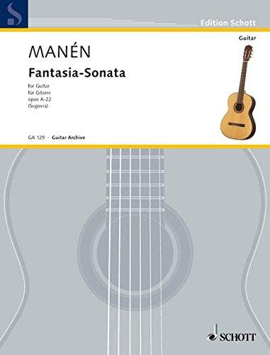 9780001095663: MANEN J. - Fantasia y Sonata para Guitarra (Segovia)
