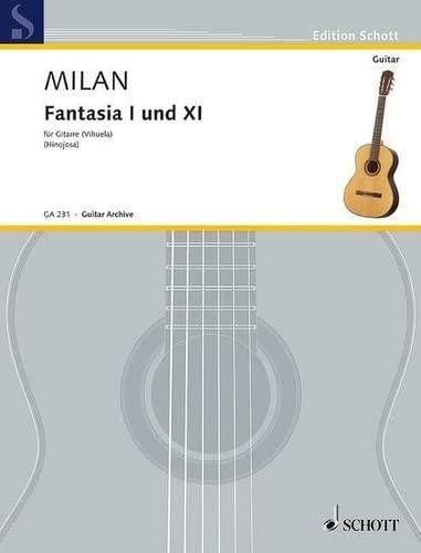 9780001096271: Fantasia I and XI ((Vihuela))