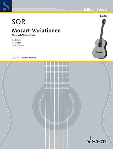 9780001096509: Mozart Variationen Op 9