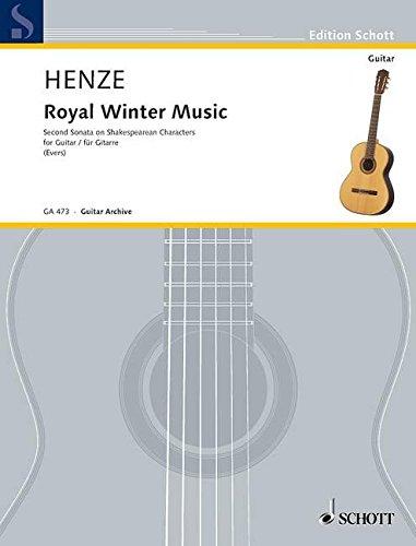 9780001097223: Royal Winter Music (Sonate Guitare