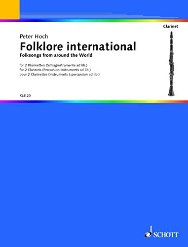 9780001098145: HOCH P. - Folklore International para 2 Clarinetes