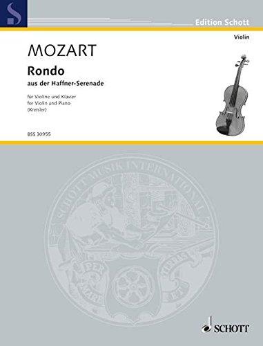 9780001106994: SCHOTT MOZART W.A. - RONDO KV 250 - VIOLIN AND PIANO Classical sheets Violin