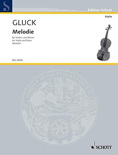 9780001107007: Gluck: Melodie (arr. Kreisler)