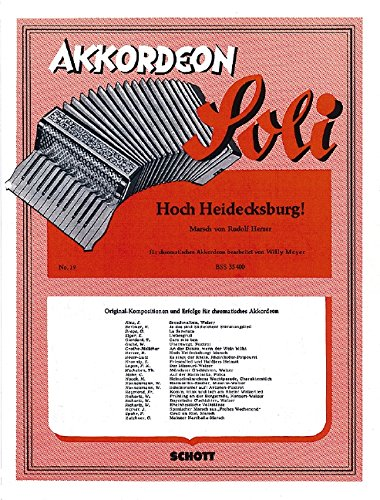 9780001109407: Hoch Heidecksburg Accordeon