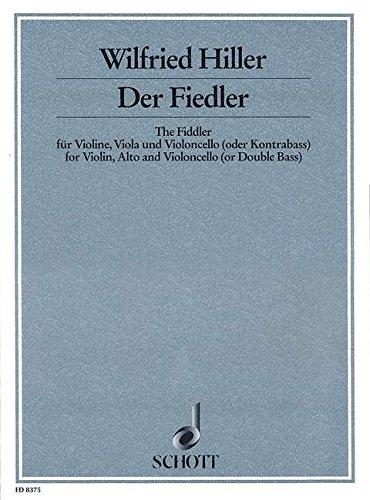 9780001111936: Hiller: The Fiddler aus dem Chagall-Zyklus (Chamber) (String Trio)