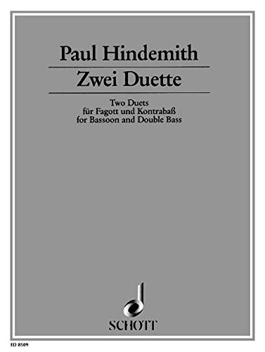 9780001113640: Two Duets for Bassoon and Double Bass