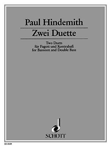 9780001113640: 2 Duette - basson et contrebasse - Partition - ED 8509