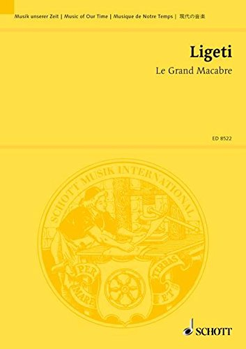 9780001113848: Le Grand Macabre: Schott Study Score