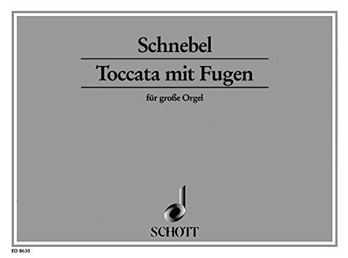 9780001115972: Toccata with Fugue - Organ - Book